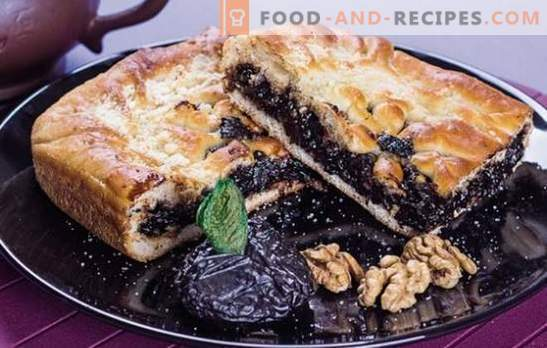 Tart sweetness is a homemade pie with prunes. The best recipes for simple and unusual pies with prunes: sweet and meat