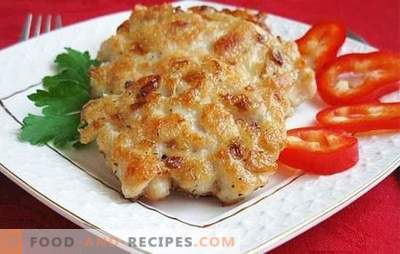 Chicken breast cutlets: how to cook? On weekdays and holidays: unusual recipes for chicken breast cutlets