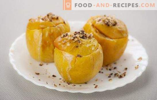 Baked apples in a slow cooker - and the oven is not necessary! Variants of simple and stuffed baked apples in a slow cooker