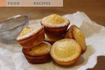Muffins on kefir
