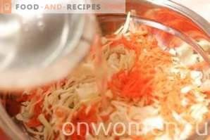Sauerkraut with Vinegar