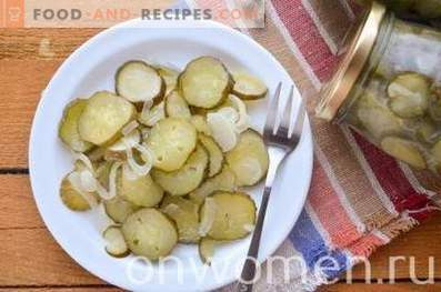Nezhinsky salad of cucumbers for the winter