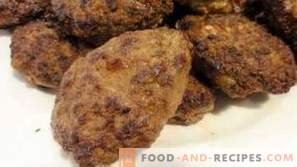 Beef liver cutlets
