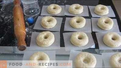 Yeast dough for donuts
