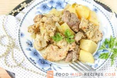 Rabbit Stewed with Potatoes