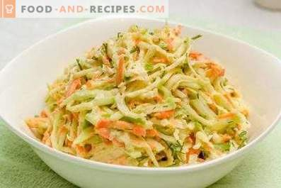 Green Radish Salads