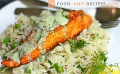 Garnish for fried fish