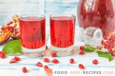 Pomegranate liqueur