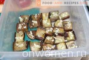 Eggplant Snack with Vegetables and Vinegar