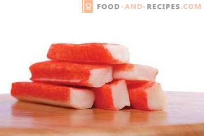 How many crab sticks are stored