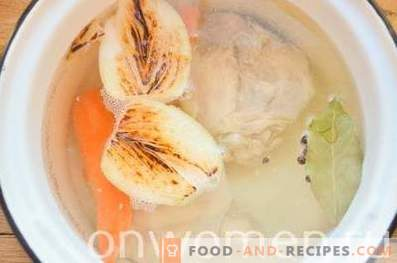 How to cook delicious chicken broth