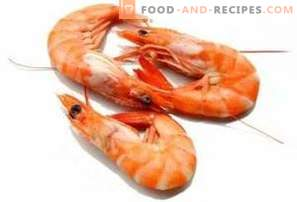 Shrimps: the benefits and harm
