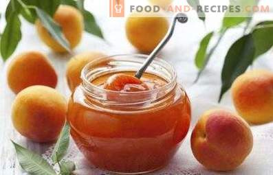 Apricot jam without cooking