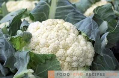 How to store cauliflower