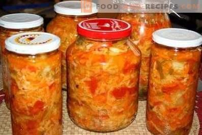 Kuban salad for the winter
