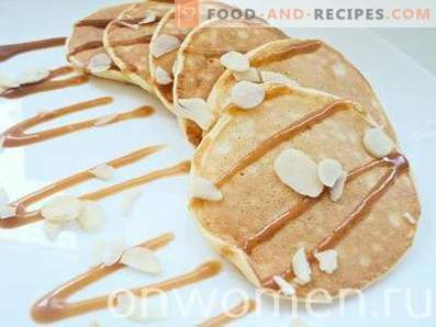 Thin pancakes on kefir