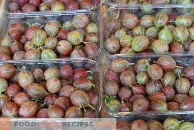How to store gooseberries