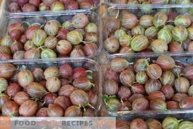 How to store gooseberries