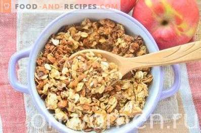 Apple Granola with Peanuts