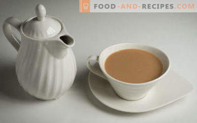 Tea with milk: the benefits and harm