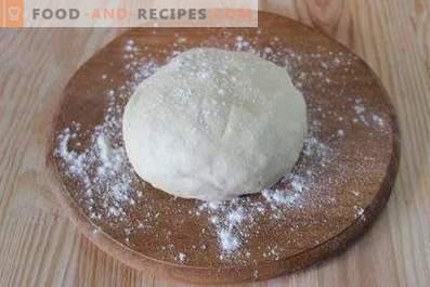 Dough for khachapuri