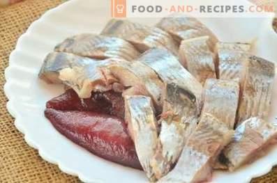 Dry herring pickling