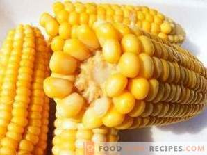 How to freeze corn for the winter