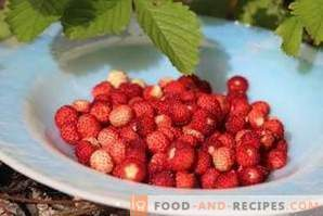 How to freeze wild strawberries