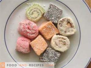 Turkish delight: benefit and harm, caloric content