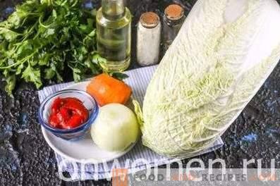 Peking Cabbage Stew