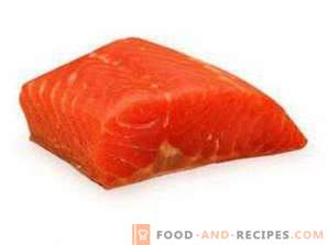 Salmon: benefit and harm