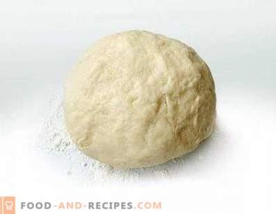 Dough on margarine for cake