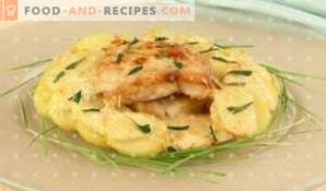 Cod baked in sour cream