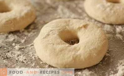 Dough for donuts