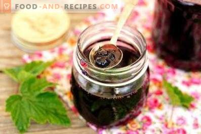 Five Minute Blackcurrant Jam