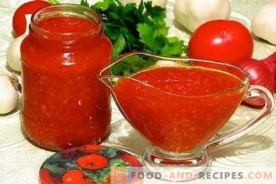Tomato sauce for the winter