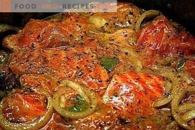 Marinade for fish kebab