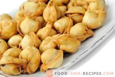 How to fry dumplings in a pan