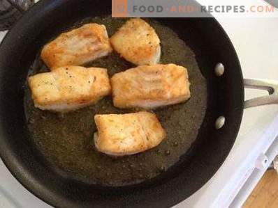 How to fry a fish so that it does not fall apart