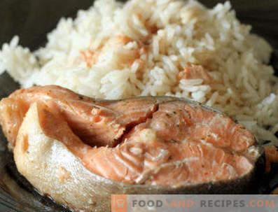 Garnish for red fish