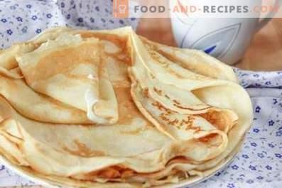 Dough for pancakes