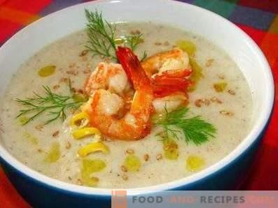 Prawn Cream Soup