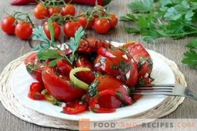 Instant eingelegte Tomaten