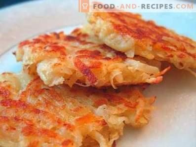 Lenten potato pancakes