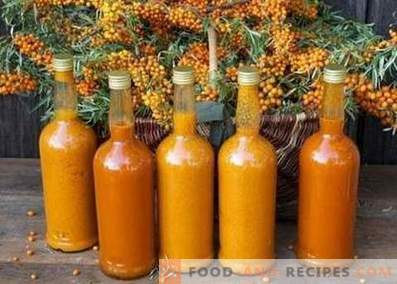 Sea buckthorn wine