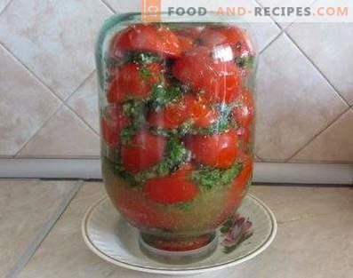 Korean Tomatoes for Winter