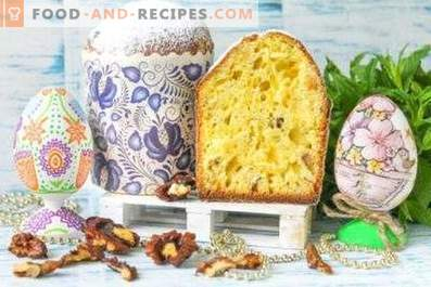 Easter cake with nuts