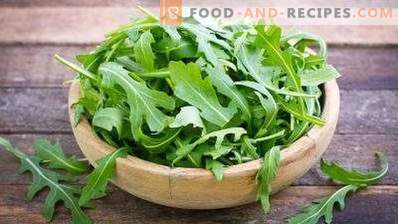 How to store arugula