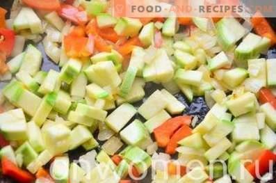 Frittata with zucchini