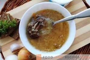 How to cook sauerkraut cabbage soup